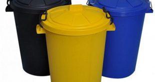 مرکز پخش سطل زباله پلاستیکی