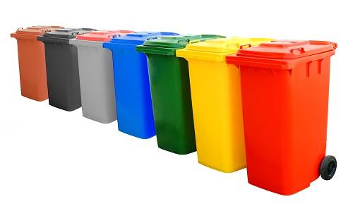 اسطل زباله پلاستیکی درجه یک