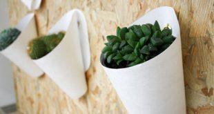 بهترین گلدان پلاستیکی دیواری