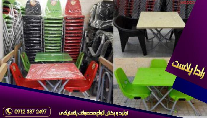 فروش میز و صندلی پلاستیکی